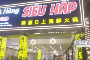 Tạm đình chỉ hoạt động nhà hàng bị tố 'chặt chém', in hóa đơn bằng tiếng Trung