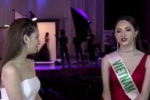 Hương Giang ghi điểm mạnh tại 'Hoa hậu Chuyển giới Quốc tế'