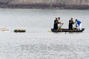 Tổng tiến công Xuân 1968: Lễ kỷ niệm, dâng hương tưởng nhớ các chiến sĩ trên tàu không số