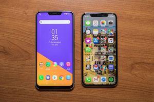 Trên tay mẫu điện thoại đầu tiên của Asus có 'tai thỏ' như iPhone X
