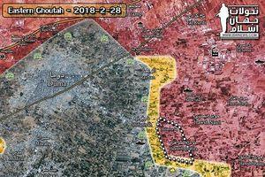 'Hổ Syria' tử chiến trong sào huyệt Đông Ghouta, tổng thống Putin yêu cầu 'tiêu diệt' khủng bố