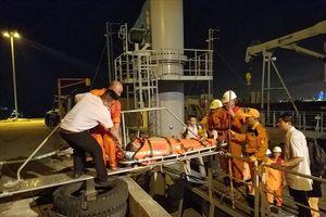 Cứu nạn thuyền viên người Philipine bị nhồi máu cơ tim