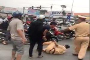 3 anh em tấn công CSGT vì bị nhắc không đội mũ bảo hiểm