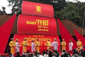 Ngày thơ Việt Nam 2018 khai mạc tại Văn Miếu - Quốc Tử Giám