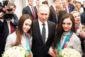 Cô gái vàng Zagitova muốn dạy Tổng thống Putin trượt băng nghệ thuật