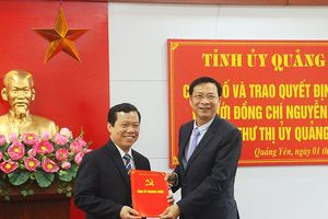 Quảng Ninh: Hàng loạt lãnh đạo chủ chốt đến tuổi nghỉ hưu