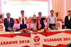 Lịch thi đấu lượt đi Giải Bóng đá Vô địch quốc gia 2018