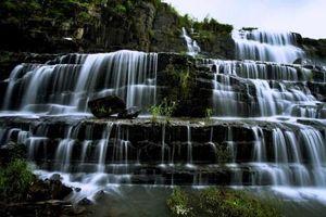 Rơi xuống thác Pongour (Lâm Đồng) trong ngày lễ hội, một thanh niên tử vong