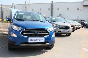 Ford EcoSport 2018 chính thức có giá bán, từ 545 triệu đồng