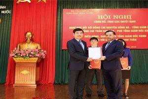 Ông Tạ Anh Tuấn được giao chức Quyền Tổng giám đốc Kho bạc Nhà nước