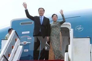 Chủ tịch nước Trần Đại Quang thăm cấp nhà nước tới Cộng hòa Ấn Độ