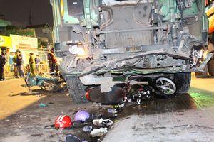 Xe ben cày nát nhiều xe máy ở Gò Vấp: Nhắc lại còn chưa hết kinh hãi