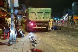 Lời khai tài xế xe ben tông 6 xe máy làm 9 người thương vong