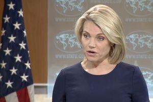 Bộ Ngoại giao Mỹ họp báo, từ chối câu hỏi nhà báo Nga