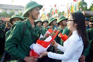 Hơn 13.000 thanh niên ĐBSCL nô nức lên đường nhập ngũ