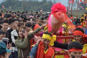 Ban tổ chức lễ hội Ná Nhèm: 'Phải làm của quý to cho xứng với tầm lễ hội'