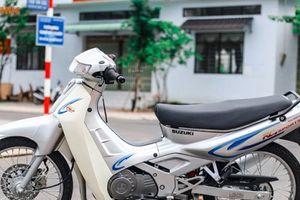 TP.HCM: Xe máy Suzuki đã dùng 20 năm rao bán 110 triệu đồng gây xôn xao