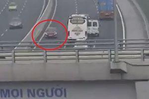 Xác định nữ tài xế lái ô tô ngược chiều trên cao tốc Hà Nội-Hải Phòng