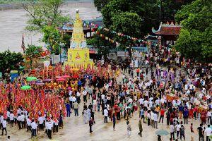 Lào Cai lần đầu tiên tổ chức lễ hội Đền Cô