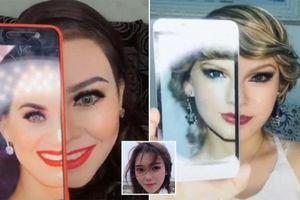 Đỉnh cao makeup: 'Biến hình' thành Taylor Swift, Beyoncé chỉ trong một nốt nhạc