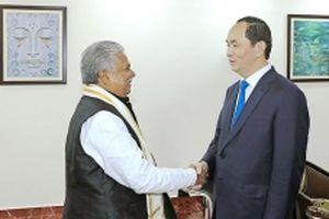 Chủ tịch nước Trần Ðại Quang bắt đầu chuyến thăm cấp nhà nước tới Ấn Ðộ