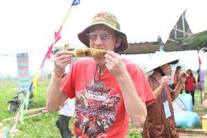10 000 trái bắp 'thết khách' tham gia Ngày hội bắp Cẩm Nam (Hội An)