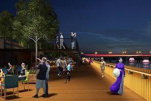 Ý kiến trái chiều về dự án đường đi bộ bằng gỗ lim trên sông Hương