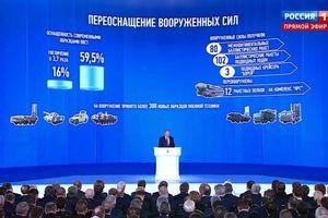 Sửng sốt uy lực 5 loại vũ khí 'quỷ khốc thần sầu' vừa được Tổng thống Putin hé lộ