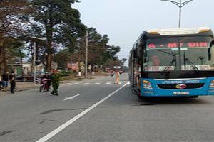 Hà Tĩnh: Gây tai nạn, xe khách tìm cách xóa hiện trường để 'giải quyết riêng'