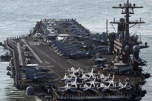 Đà Nẵng đem mỳ Quảng, bánh xèo, nem rán... giao lưu với tàu sân bay Mỹ