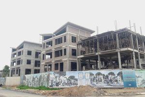 Hàng chục căn biệt thự tại dự án Khai Sơn Hill xây dựng không phép