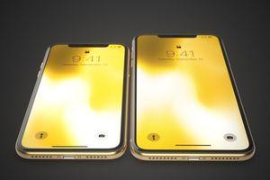 Thiết kế iPhone X màu vàng tuyệt đẹp
