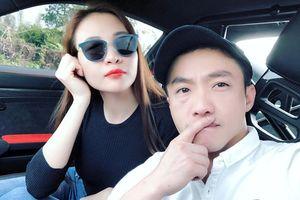 Đàm Thu Trang tham gia hành trình siêu xe cùng Cường Đô La