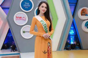 Hương Giang Idol duyên dáng hết cỡ trên truyền hình Thái