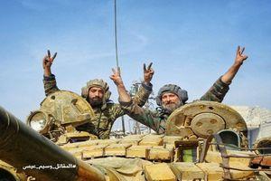 'Ác chiến' với khủng bố, Quân đội Syria tái chiếm 25% Đông Ghouta