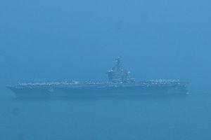 Siêu tàu sân bay Mỹ đã xuất hiện ở Đà Nẵng
