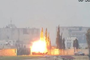 Clip: Tấn công hạ 'knock out' lực lượng xe tăng ở Syria