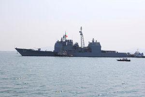 Sức mạnh của tuần dương hạm hộ tống siêu hàng không mẫu hạm đến Đà Nẵng