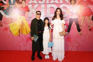 Trương Ngọc Ánh dẫn con gái tham gia Asian Kids Fashion Week