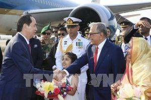 Báo chí Bangladesh: Chuyến thăm của Chủ tịch nước Trần Đại Quang có ý nghĩa quan trọng