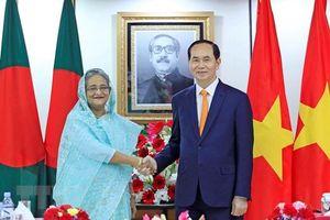 Việt Nam - Bangladesh phấn đấu đạt 2 tỷ USD kim ngạch thương mại