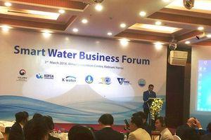 Diễn đàn trao đổi hợp tác kinh doanh công nghệ quản lý nước thông minh