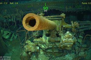 Phát hiện xác tàu sân bay Mỹ bị đắm sau hơn 70 năm