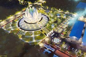 Xây dựng Liên Hoa Bảo Tháp với tượng Phật dát vàng ở Sóc Trăng