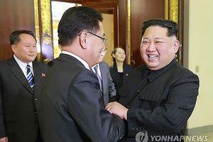 Chủ tịch Triều Tiên Kim Jong-un tiếp phái đoàn Hàn Quốc