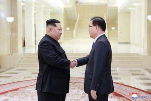 Ông Kim Jong-un nói những gì khi tiếp đoàn cấp cao Hàn Quốc?