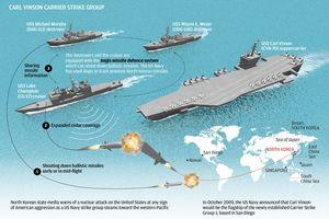 Khám phá sức mạnh 'đội cận vệ' của tàu sân bay USS Carl Vinson đang ghé cảng Đà Nẵng