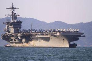 Siêu tàu sân bay USS Carl Vinson Hoa Kỳ và chuyến hành trình lịch sử