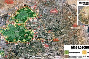 'Hổ Syria' giáng đòn chí mạng, sắp kết liễu phiến quân tử thủ Đông Ghouta