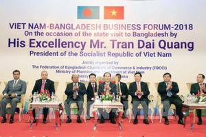 Chủ tịch nước Trần Đại Quang dự Diễn đàn Doanh nghiệp Việt Nam-Bangladesh